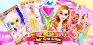 games like princess salon dress up