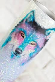 Wolf Waterslide Decal Clear Waterslide Paper Ready To Use Waterslide Images Diy Glitter Cups Lovely Rustic Weddings