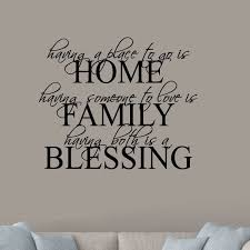 Winston Porter Henline Home Family Blessing Wall Decal Reviews Wayfair