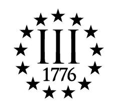 Iii 3 3 Percenter 1776 Vinyl Decal Sticker Molon Labe Gun Etsy