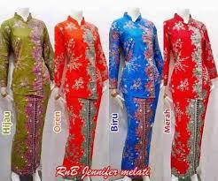 Dress batik mewah hijab ibu ibu pejabat terbaru 2019. Baju Seragam Batik Kerja Setelan Rok Blus Busana Baju Batik Modern Dan Motif Terbaru Setelan Setelan Rok Model Pakaian