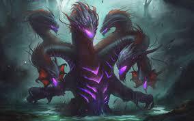 wallpaper creature art 4k hydra