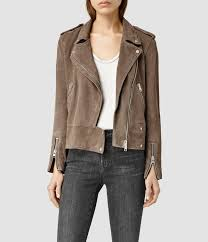 all saints leather jackets for women