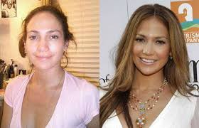 these famous celebrities without makeup