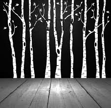 Tree Clay Picture More Detailed Picture About Birch Aspen Trees Birds Forest Wall Art Stickers Remova Birch Tree Wall Decal Birch Tree Decal Birch Tree Decor