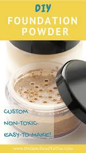 custom diy foundation powder just 6