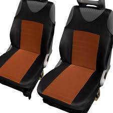 front seat covers protectors with bars