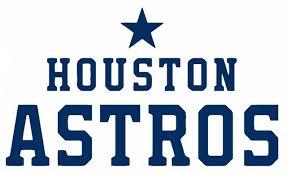 Houston Astros Script Die Cut Vinyl Graphic Decal Sticker Mlb Baseball