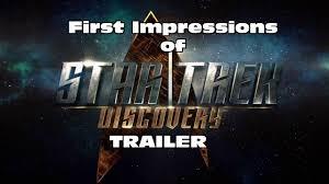 Star Trek Discovery Trailer – First ...