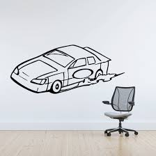 Simple Stock Car Decal