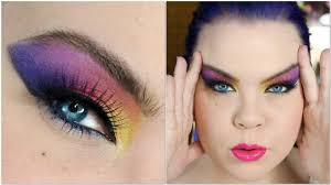 1980s dramatic af makeup tutorial you