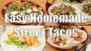 easy homemade street tacos home