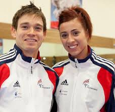 London 2012 Olympics: Aaron Cook and girlfriend Bianca Walkden ...
