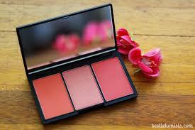 sleek blush by 3 palette review