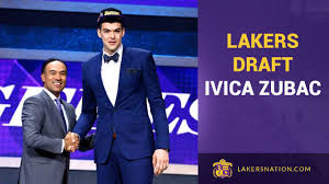 Lakers Draft Ivica Zubac With 32nd Pick - YouTube