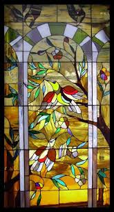 art custom design stained glass window