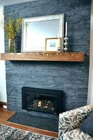 inspirational grey brick fireplace for