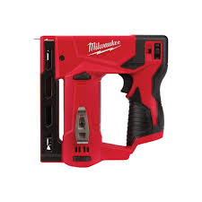 Milwaukee M12 12 Volt Lithium Ion Cordless 3 8 In Crown Stapler Tool Only 2447 20 The Home Depot