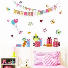 Animal Wall Stickers Kids Bedrooms Lovely Decor Childrens Day Kinderga Littlezahrabookstore