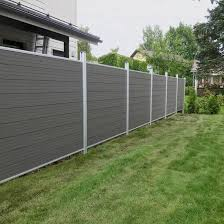 China Wholesale Wood Plastic Composite Fencing Wpc Board Privacy Garden Fence China Garden Fence Wpc Fence