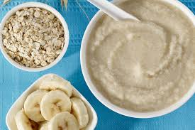 instant pot baby food banana oatmeal
