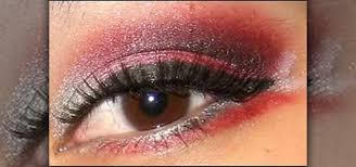 black eye shadow makeup