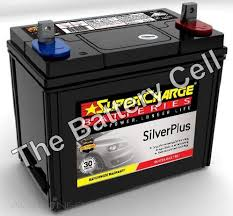 SMF43 SuperCharge Silver Car Battery (FREE DELIVERY, no Rural ...