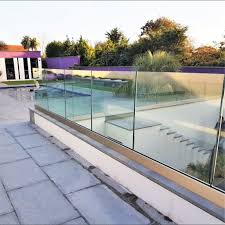 China Aluminum Pool Fence Post Railing Glass Holder U Channel Photos Pictures Made In China Com