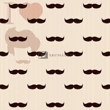 vine retro hipster mustache
