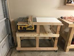 Upgraded Rip Capacity And Fence For Dewalt 7480 Table Saw Fence Dewalt Woodworking