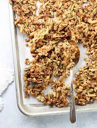 healthy granola recipe nut free oil