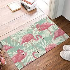 beach bath rug set tropical paradise