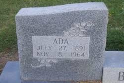 Ada Scott Brooks (1891-1964) - Find A Grave Memorial
