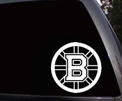 Boston Bruins Car Window Truck Laptop Skin Vinyl Decal