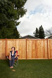 How To Mount Wood Fence Panels Between Posts Home Guides Sf Gate