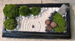make a desktop zen garden for a