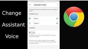 Change Google Assistant Voice - YouTube
