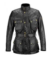 men s black roadmaster leather jacket