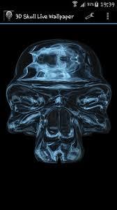 3d skull live wallpaper the great apps