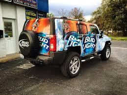 Bud Light Vehicle Wrap
