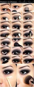 black smokey eye makeup tutorial cat