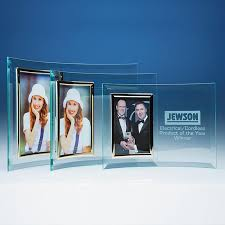 curved glass frame for 3 5x5in photo