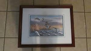 """Framed Signed Print by Ericka Smith DeLong - """"Tired Wings"""" - 31/100 -  8/29/89   eBay"""