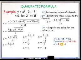 mathematics grade 9 lessons quadratic