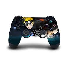 Super Naruto Uchiha Sasuke Ps4 Skin Sticker Full Cover For Sony Playstation4 And Controllers Consoleskins Co
