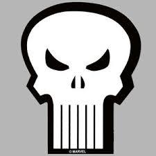Marvel Punisher Skull Vinyl Window Decal Comicbook Superhero Logo Bumper Sticker Ebay