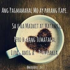 kape😢💔 a admin tagalog hugot love quotes facebook