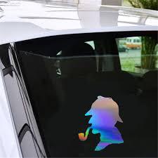 Sherlock Holmes Sticker Motorcycle Car Auto Vinyl Laptop Wall Window Decal Car Stickers Aliexpress