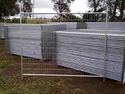 Welded Portable Fence Longlife Versatile Temp Fence