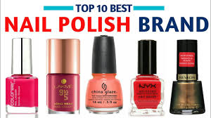 best nail polish brand with